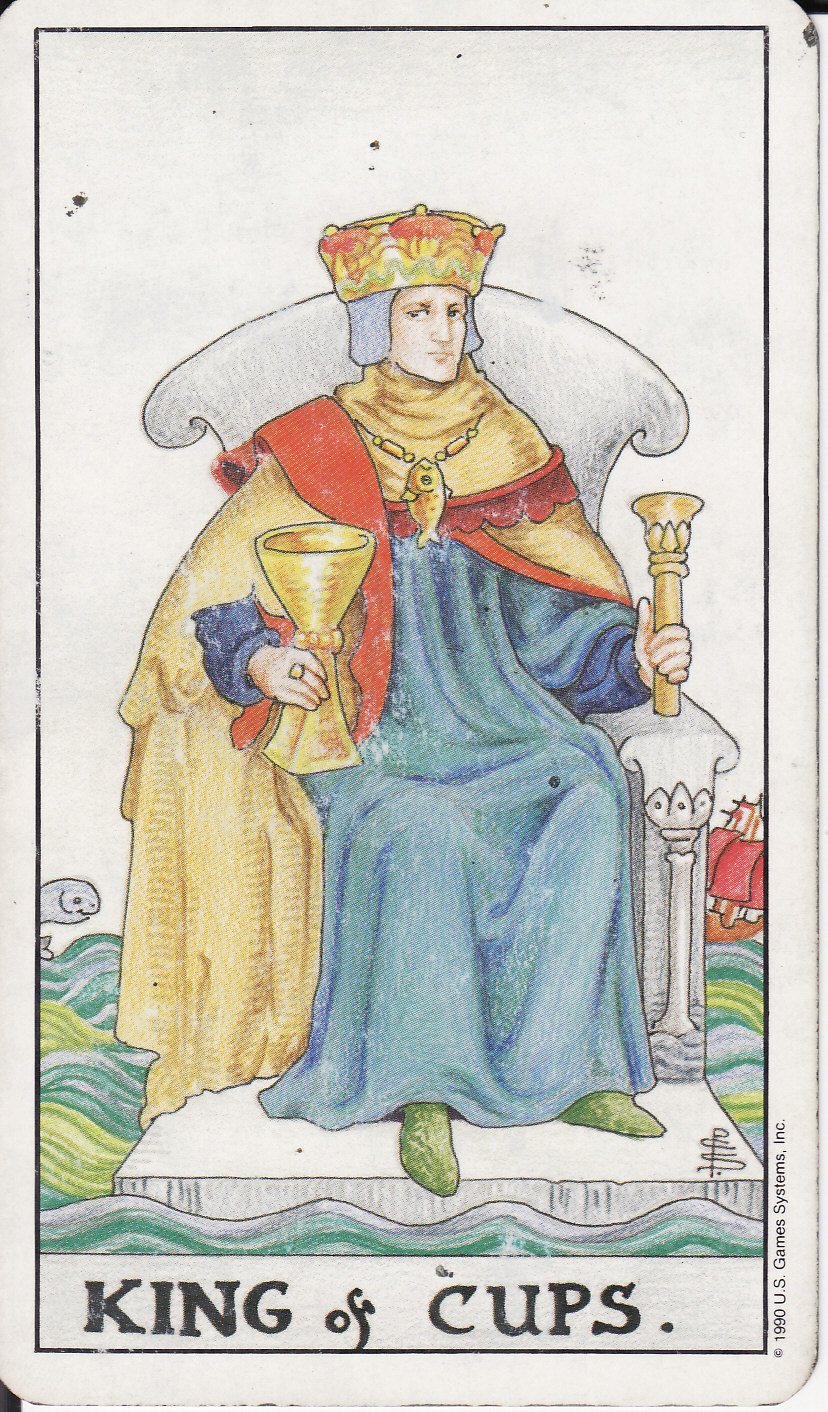 TAROT - The Royal Road: KING OF CUPS